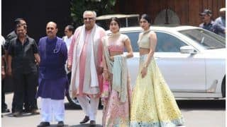 Janhvi Kapoor And Khushi Kapoor's Style At Sonam Kapoor-Anand Ahuja's Wedding Is The Perfect Fashion Inspiration This Season