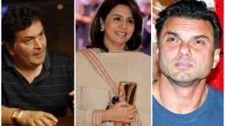 Did Neetu Kapoor Apologise To Sohail Khan After Rishi Kapoor Unleashed His Anger On His Wife Seema Khan At Sonam Kapoor's Reception?