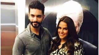 Neha Dhupia And Angad Bedi Married : This Video Of The Couple Taking Pheras Cannot Be Missed !