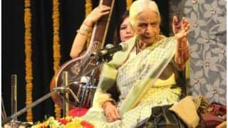 शास्त्रीय गायिका गिरिजा देवी भारत की हैं 'आवाज': राज्यपाल