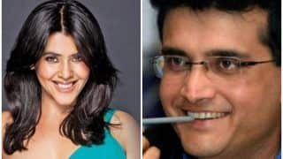 Ekta Kapoor's Alt Balaji To Make A Biopic On Sourav Ganguly Based On His Book, A Century Is Not Enough