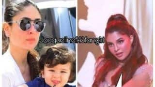 Jacqueline Fernandez Can't Get Enough Of This Cute Meme That Features Her Along With Taimur Ali Khan - View Pic