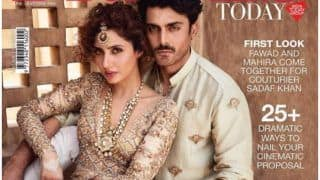 Fawad Khan And Mahira Khan Exude Royalty On The Cover Of A Leading Bridal Magazine