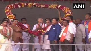 PM Narendra Modi Attacks Congress, Says NDA Government is Guided by 'Janmat', Not Janpath