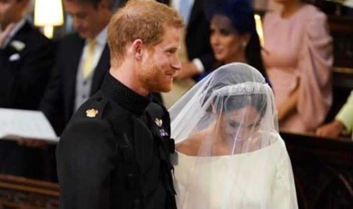 Royal Wedding Kiss.Britain S Royal Wedding Meghan Markle And Prince Harry S