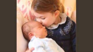 Kate Middleton and Prince William Share Closeup Pictures of Newborn Royal Baby Prince Louis