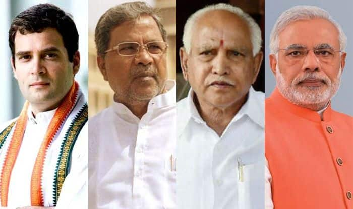 BJP, Congress, JDS in close fight; voting to begin at 7 am