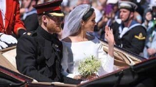 Royal Wedding 2018: Prince Harry, Meghan Markle Make Their First Public Appearance as a Married Couple