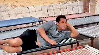 Race 3 के ट्रेलर के बाद, ढाबे पर पहुंचे सलमान, खाट पर पसरा सुस्त नज़र आया 'सुल्तान'