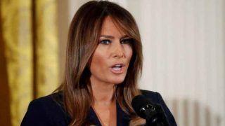 किडनी की सर्जरी के बाद व्हाइट हाउस लौटीं मेलानिया ट्रंप