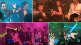 Sonam Kapoor - Anand Ahuja Reception: Shah Rukh Khan, Salman Khan, Ranveer Singh Burn The Dance Floor With Their Moves - See Videos