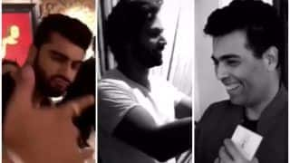 Sonam Kapoor - Anand Ahuja's Sangeet: Varun Dhawan, Jacqueline Fernandez, Karan Johar Join Arjun Kapoor At Dance Rehearsals