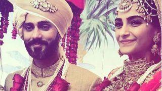 Sonam Kapoor Wedding: शादीशुदा हुईं सोनम कपूर, Mrs.आहूजा की देखिए पहली फोटो