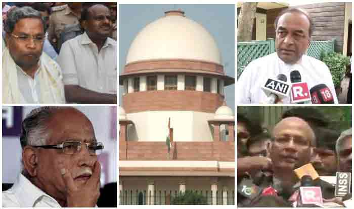 SC ordered for Live telecast of entire proceedings of Trust Vote of BS Yeddyurappa