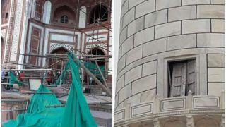 तूफान से हिल गया ताज महल, 368 साल बाद मुख्य ढांचे को इस तरह से पहुंचाया नुकसान