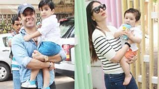 Taimur Ali Khan Gets a Surprise as Mommy Kareena Kapoor Khan Picks him up From School - See Pics
