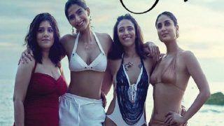 Veere Di Wedding New Poster: Kareena Kapoor Khan, Sonam Kapoor, Swara Bhasker's Beach Avatars Are Raising Temperatures