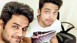 Vikas Gupta And Parth Samthaan Patch Up At Palash Muchhal's Bash?