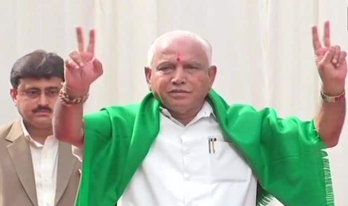 Yeddyurappa sworn-in as Karnataka CM