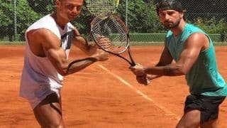 Cristiano Ronaldo Flaunts Muscles on Tennis Court Instead of Playing For Portugal
