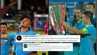 Intercontinental Cup 2018 Finals: Amitabh Bachchan to Sachin Tendulkar, How Celebrities Congratulated Sunil Chhetri's Blue Tigers