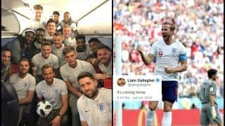 FIFA World Cup 2018: Harry Kane Flaunts Panama Hattrick Match Ball as Liam Gallagher Leads Tributes From Celeb Fans