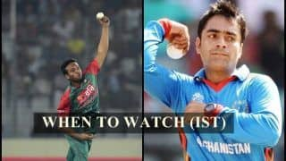 Afghanistan vs Bangladesh 2nd T20I Live Streaming: When And Where to Watch on TV (IST)