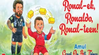 FIFA World Cup 2018: Amul's Take on Cristiano Ronaldo-Lionel Messi Debate is a Treat For Fans