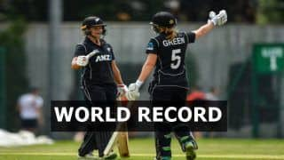 WATCH: New Zealand W Register Highest Ever ODI Team Total 490/4, Suzie Bates, Maddy Green Slam Tons