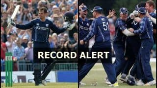 England vs Scotland Only ODI: England's 6-run defeat to Scotland And Records That Were Broken