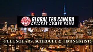 Global T20 Canada: Full Squads to Teams, All You Need to Know About The New Cricketing Extravaganza