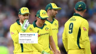 England vs Australia: Michael Hussey's Worry And How Michael Vaughan Took a Dig at The Aussies After England Register Highest Ever ODI Total