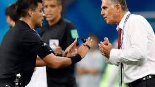 FIFA World Cup 2018: Iran Coach Carlos Queiroz Says Video Assistant Referee(VAR) Not Working