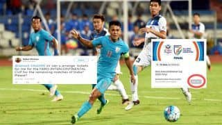 Intercontinental Cup 2018 Finals Tickets: Sunil Chhetri Magic Works, Tickets Sold Out, Netizens Plead Shah Rukh Khan For Tickets