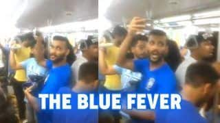 WATCH: Blue Pilgrim Fans Celebrate Sunil Chhetri, Blue Tigers Victory in Metro After India Beat Kenya 2-0 to Win Intercontinental Cup 2018