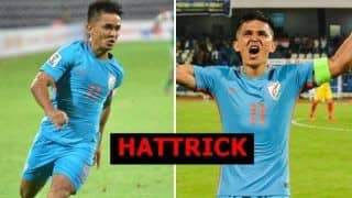 Intercontinental Cup 2018: Sunil Chettri Scores a Hattrick as India Humiliate Chinese Taipei 5-0