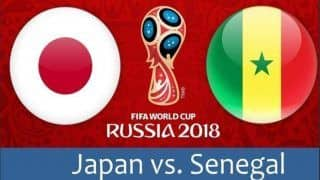 Japan vs Senegal FIFA World Cup 2018 Match 31 Live Streaming: When And Where To Watch on TV (IST)