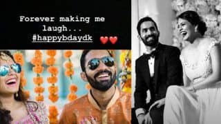 Happy Birthday Dinesh Karthik: Wife Dipika Pallikal's Message For Husband Will Give You Couple Goals