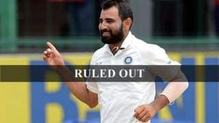 Mohammed Shami Ruled Out of India-Afghanistan One-Off Test After Failing 'Yo-yo' Test, to be Replaced by Navdeep Saini