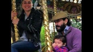 Taimur Ali Khan Enjoying a Ride on a Carousel With Kareena Kapoor Khan and Saif Ali Khan Needs To Be Framed ASAP