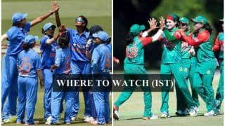 India W vs Bangladesh W Women's Asia Cup 2018 Live Streaming: When And Where to Watch on TV (IST)