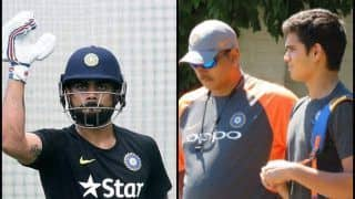 Sachin Tendulkar's Son Arjun Tendulkar Bowling to Indian Captain Virat Kohli in India's First Practice Session in England is Pure Gold -- WATCH