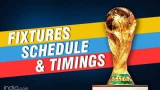 FIFA World Cup 2018: Fixtures, Schedule, India Timings And All You Need to Know
