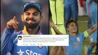 Virat Kohli's Message For Sunil Chhetri-Led Blue Tigers After Winning Intercontinental Cup 2018 is Extremely Motivating