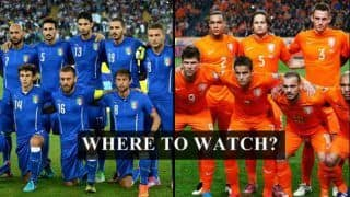Italy vs Netherlands FIFA International Friendly Live Steaming: When And Where to Watch on TV (IST)