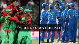 Afghanistan vs Bangladesh 3rd T20I Live Streaming: Where And When to Watch on TV (IST)