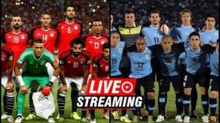 Egypt vs Uruguay FIFA World Cup 2018 Match 2 Live Streaming: When And Where To Watch (IST)