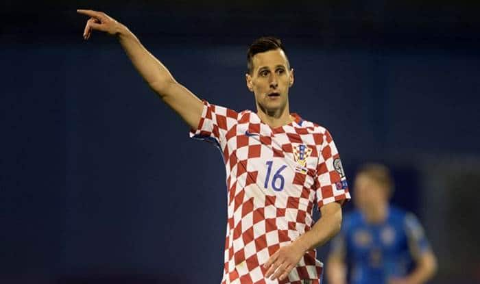 Croatia's injured Kalinic returns home from Russia