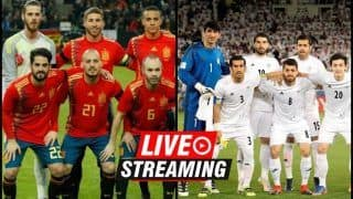 Iran vs Spain FIFA World Cup 2018 Match 20 Live Streaming: When And Where To Watch on TV (IST)