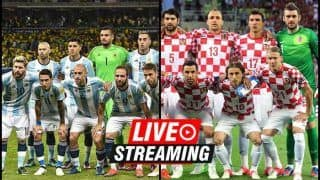 Argentina vs Croatia FIFA World Cup 2018 Match 23 Live Streaming: When And Where To Watch on TV (IST)